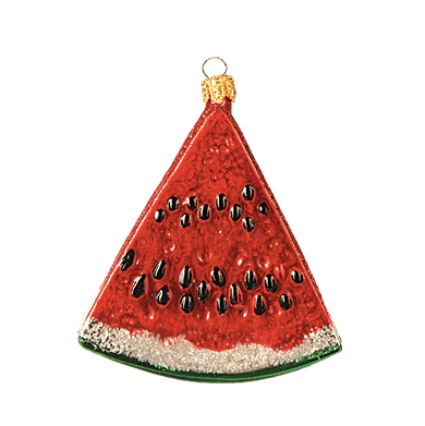 Vandmelon julepynt / Watermelon ornament