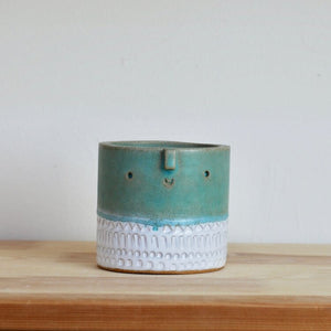 Mini Green w. Stamp Pot