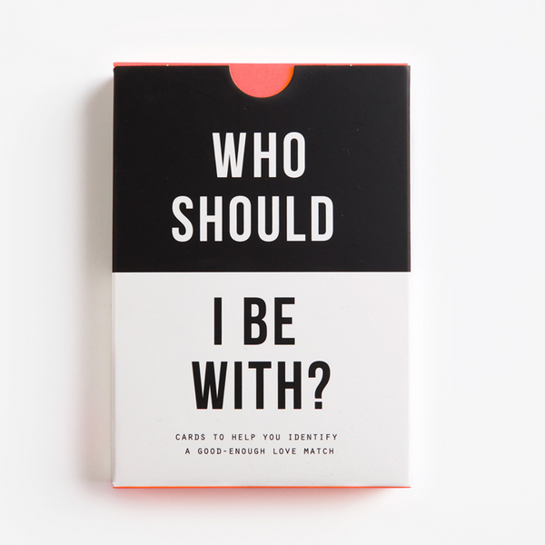 The School Of Life: Who Should I Be With? Card Game