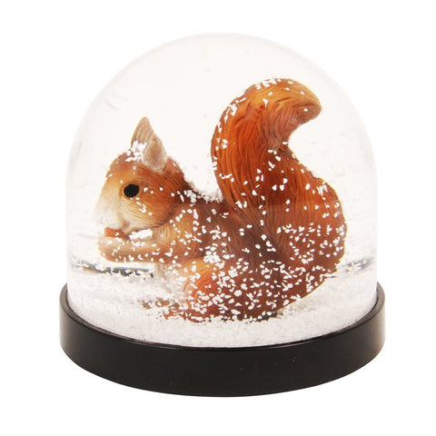 Snekugle med Egern / Snow globe Squirrel - udsolgt/sold out