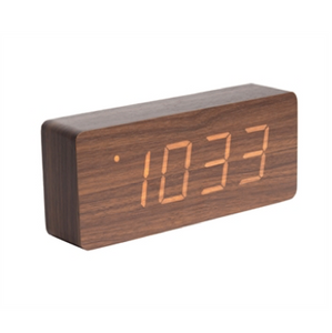 "Alarm Clock ""Wood"" vækkeur"