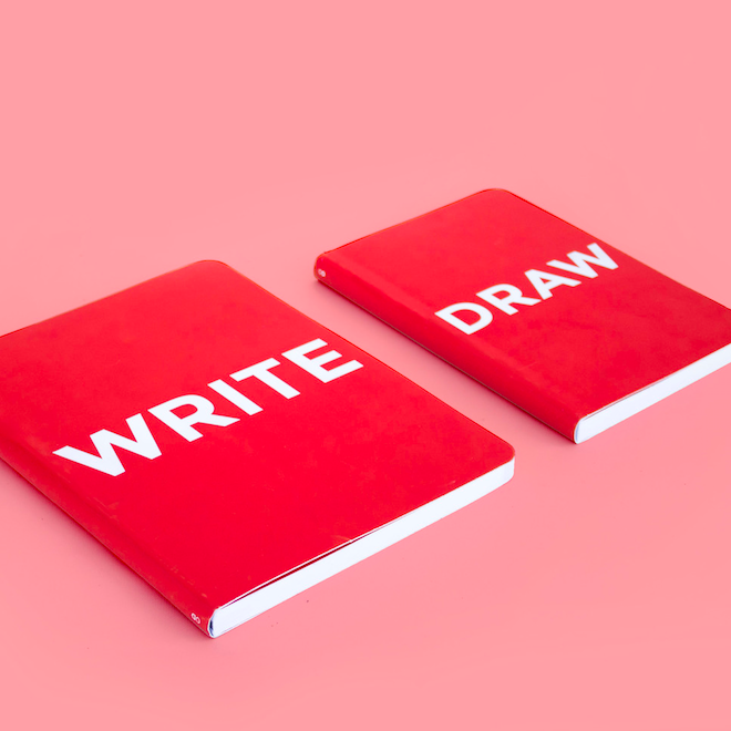 Octagon Design Write-Draw Notebook