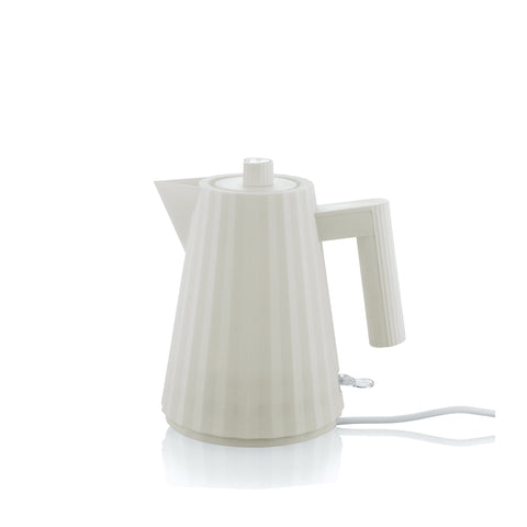 Alessi Plissé Electric Kettle - White
