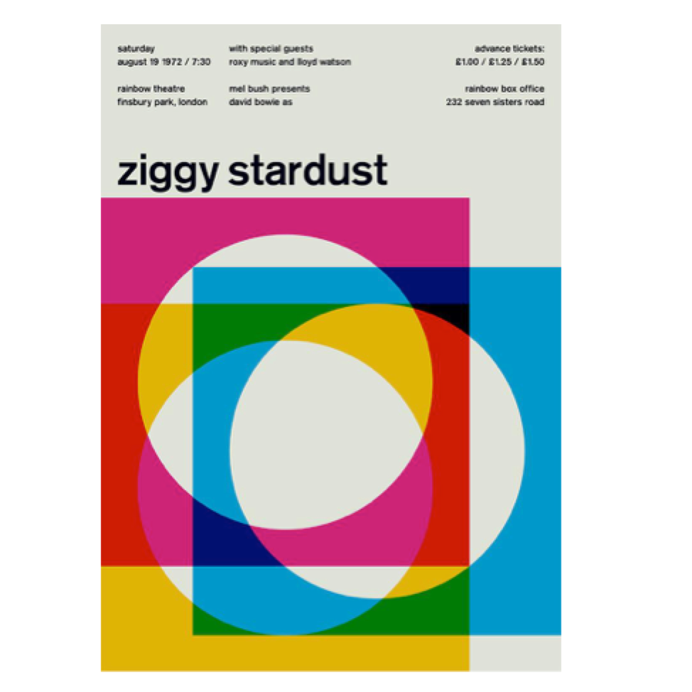 Ziggy Stardust Print - pt udsolgt/sold out