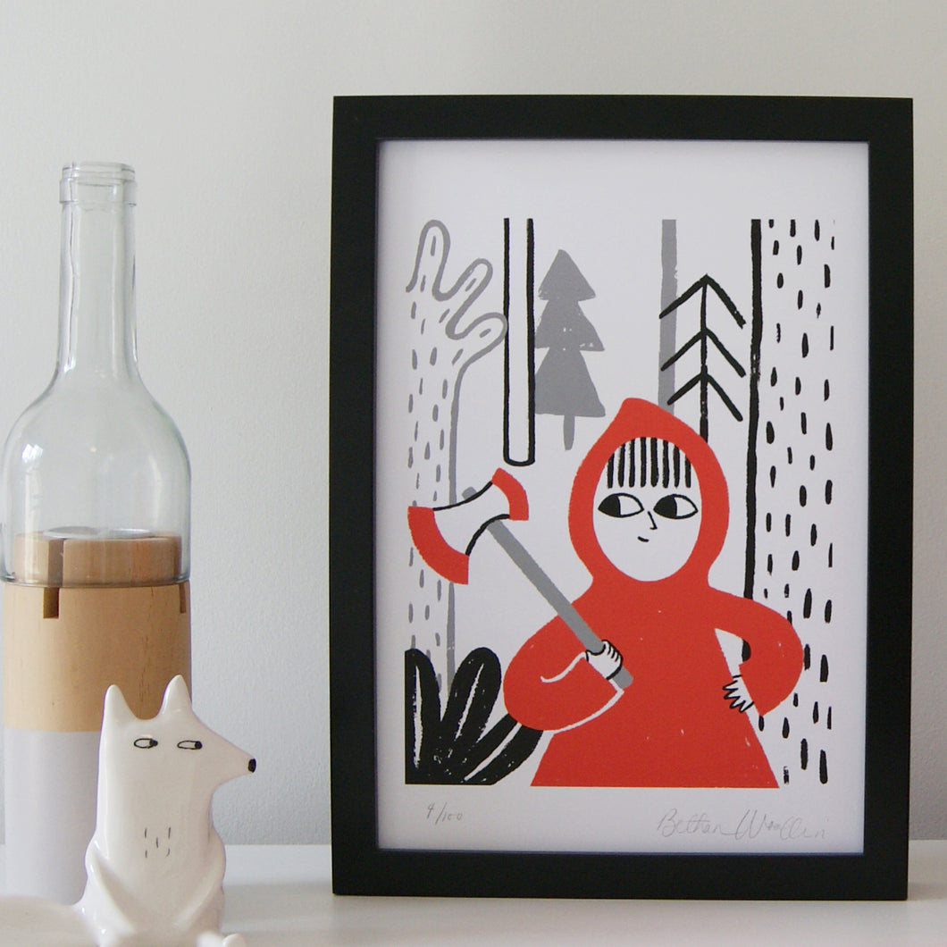 Little Red, Print