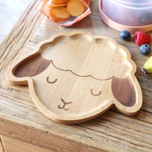Lamb Bamboo Children's Plate