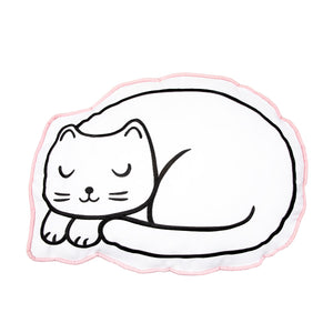 Cute Cotton Cat Nap Cushion