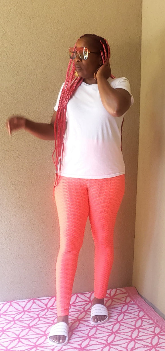 Look Back Leggings (coral)