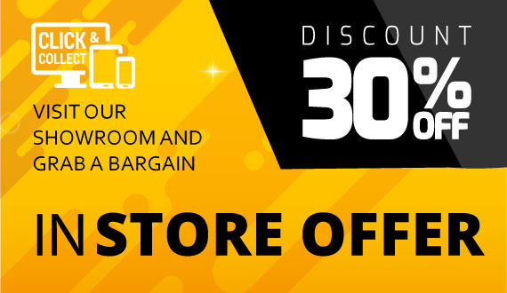 in-store offer- Collect and get 10% off the price