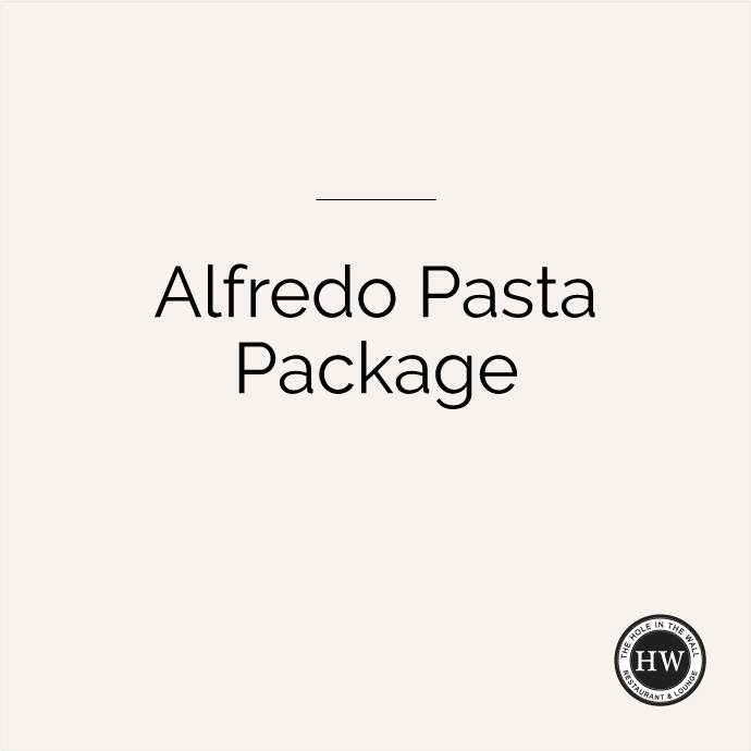 Alfredo Pasta Package