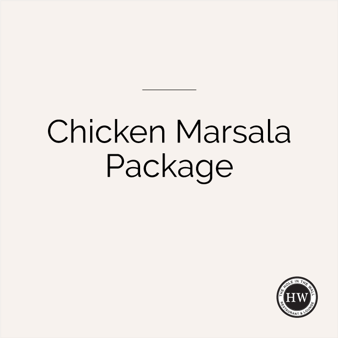 Chicken Marsala Package