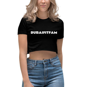 Dubaifitfam Women's Crop Top