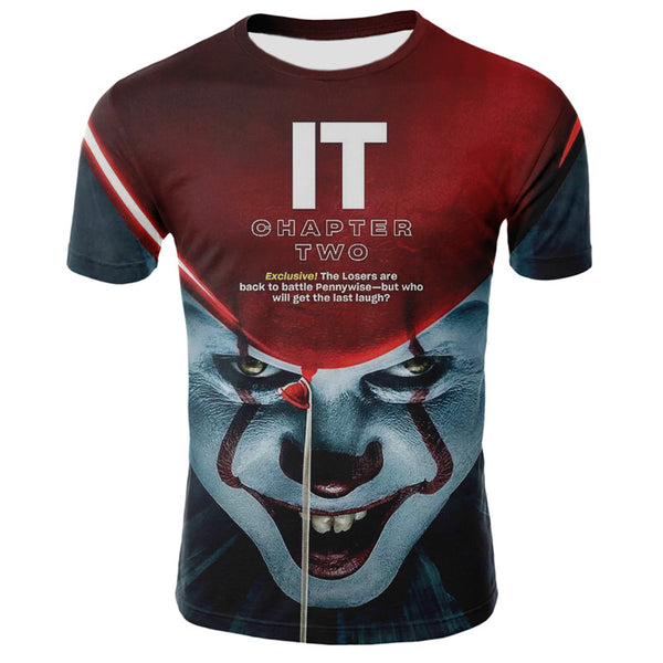 IT joker print t-shirt