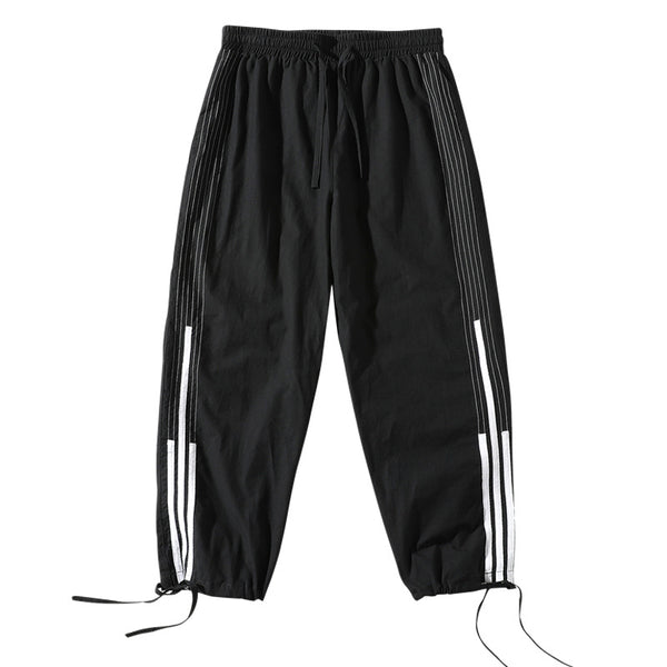 Men's casual Capris with drawstring