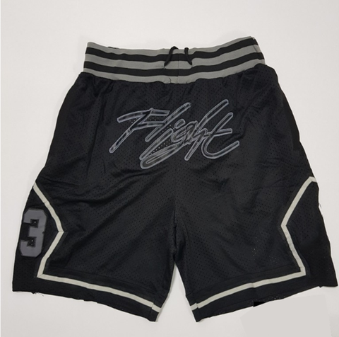 Letter print sports style basketball shorts