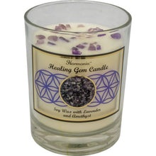 Load image into Gallery viewer, Harmonia Soy Gem Candle - Healing Amethyst