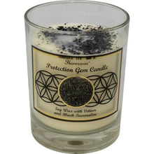 Load image into Gallery viewer, Harmonia Soy Gem Candle - Protection Black Tourmaline