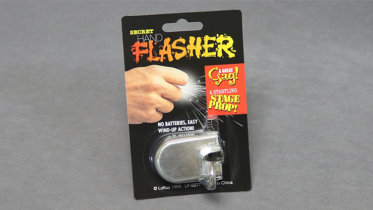 Secret Hand Flasher