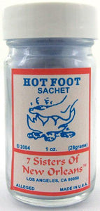 7 Sisters of New Orleans - Hot Foot Sachet Powder