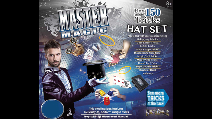 Master Magic Hat Trick Set