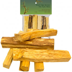 Specialty Incense - Palo Santo Wood Sticks (Pack of 6)