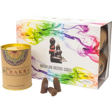 Load image into Gallery viewer, Goloka Backflow Incense Cones - 1 Can