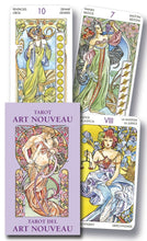Load image into Gallery viewer, Tarot Art Nouveau Mini