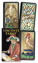 Load image into Gallery viewer, Visconti Mini Tarot
