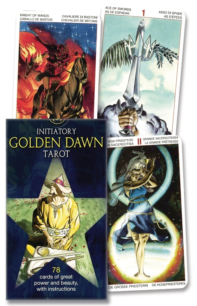 Initiatory Golden Dawn Tarot Deck