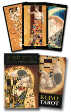 Load image into Gallery viewer, Golden Tarot of Klimt Mini Deck