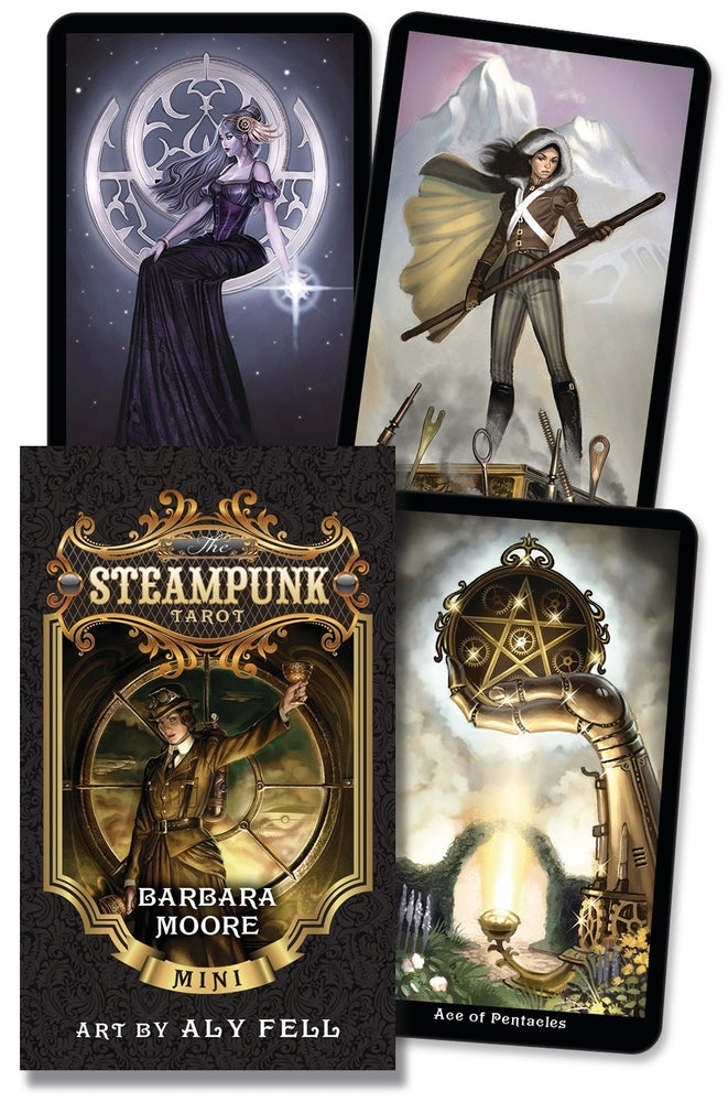 The Steampunk Tarot Mini (Pre-Order May 2020)
