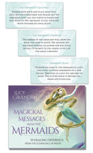 Load image into Gallery viewer, Magickal Messages from the Mermaids  by Lucy Cavendish
