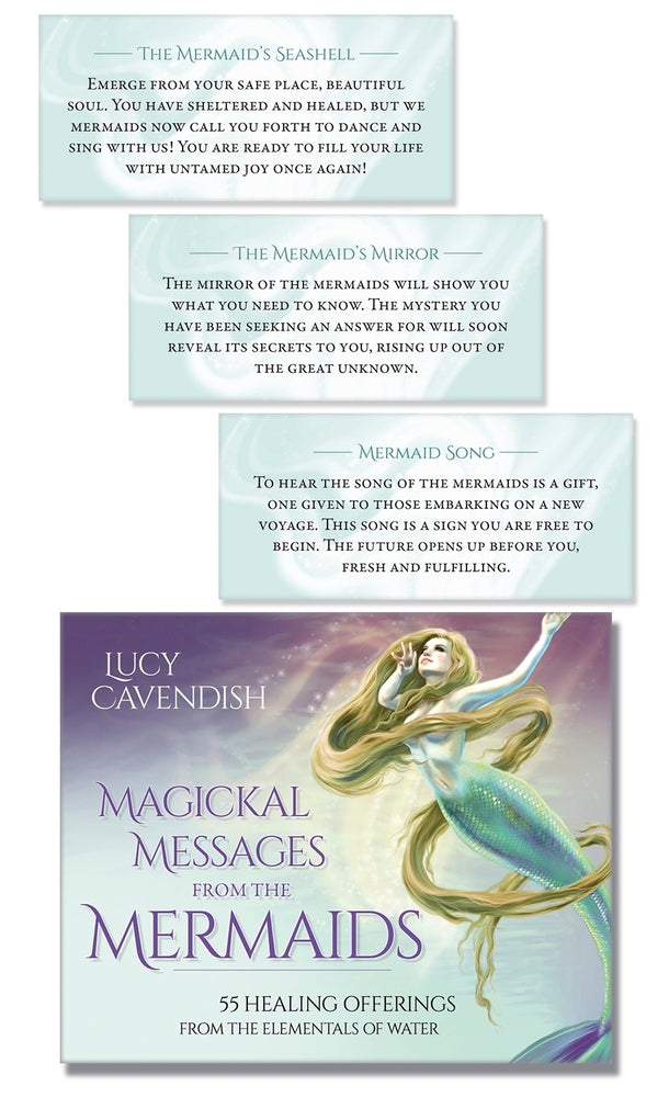 Magickal Messages from the Mermaids  by Lucy Cavendish