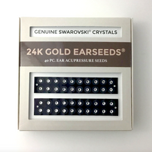 Load image into Gallery viewer, 40 Piece Clear Swarovski® Crystal EarSeeds