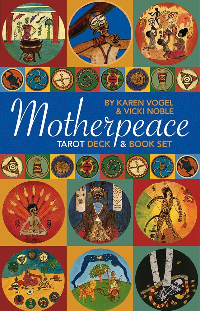 Mini Motherpeace Round Deck & Book Set