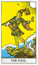 Load image into Gallery viewer, Miniature Rider-Waite Tarot Deck