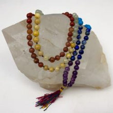 Load image into Gallery viewer, Gemstone Intention Jap Mala Necklace