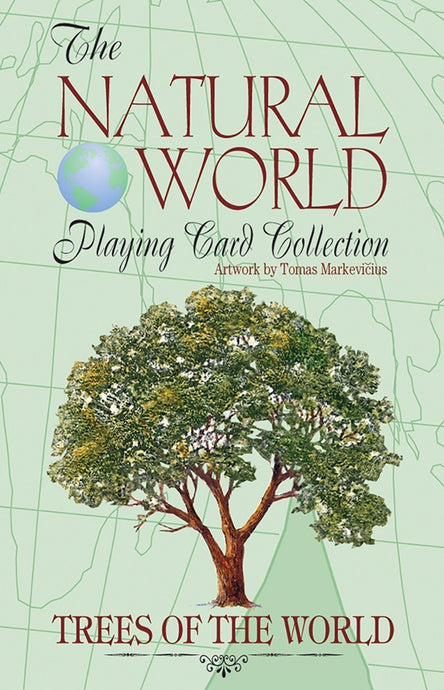 Trees of the Natural World Playing Cards