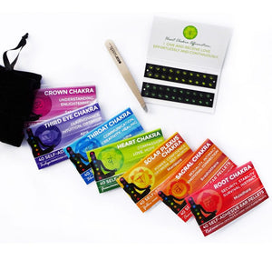 Chakra Colored Swarovski® Crystal Refill Packs