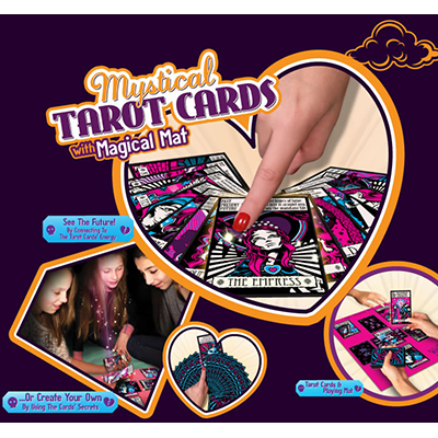 Mystical Tarot Cards with Magical Mat