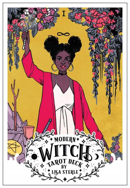 Modern Witch Tarot Deck by Lisa Sterle