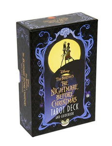 Disney Tim Burton's The Nightmare Before Christmas Tarot Deck Kit