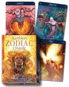 BARBIERI ZODIAC ORACLE (26-card deck & instruction booklet)