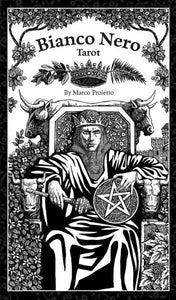 BIANCO NERO TAROT (80-card deck & 64-page booklet)