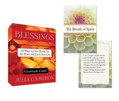 BLESSINGS GRATITUDE CARDS: 64 Ways To Give Thanks For The Peace & Joy In Your Life (64-card deck)