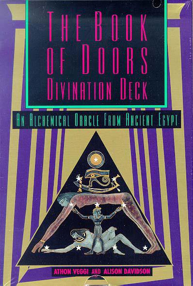 BOOK OF DOORS DIVINATION DECK: An Oracle From The Egyptian Book Of The Dead (book, deck & die)
