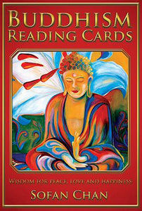 BUDDHISM READING CARDS: Wisdom For Peace, Love & Happiness (36-card deck & 104-page guidebook)