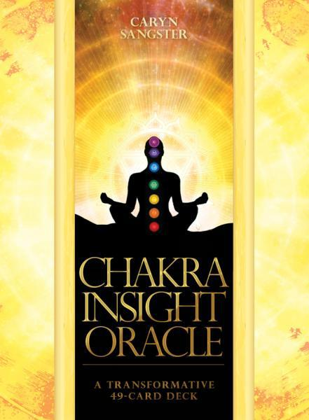 CHAKRA INSIGHT ORACLE (49-card deck & hardcover book) (revised)