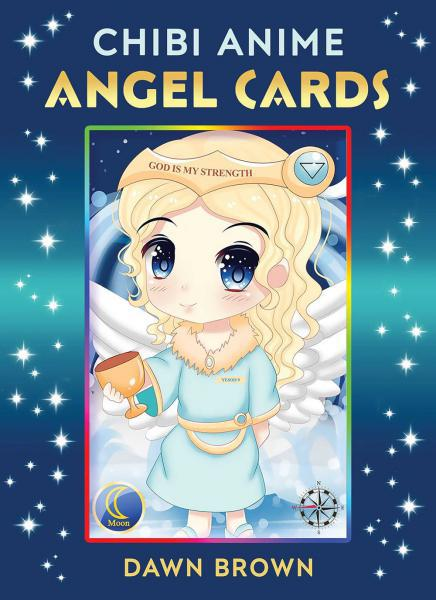 CHIBI ANIME ANGEL CARDS (44-card deck & 128-page booklet)