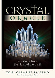CRYSTAL ORACLE (44-card deck and 88 page guidebook in hard cover box)